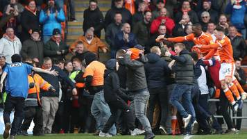 Blackpool: FA investigate pitch invasion after Southend draw