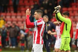 cheltenham town's former newcastle united, northampton town and newport county afc man ben tozer at home in back three after starting season as round peg in square hole