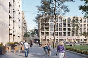 new £185m perry barr village to provide just 58 'family council houses' after commonwealth games