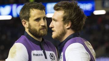 scotland's hogg, seymour & kinghorn ruled out against england