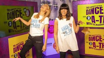 tess daly and claudia winkleman dance 24-hours for comic relief