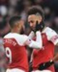arsenal star aubameyang reveals what lacazette told him before crucial man utd penalty