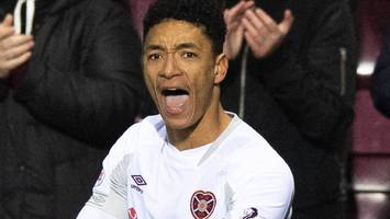 hearts 2-1 partick thistle: clare spot kick sends hearts into scottish cup semis