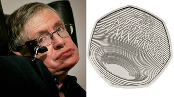 prof stephen hawking commemorated on new 50p coin