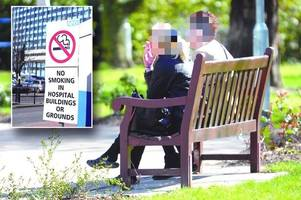 smokers who light up outside hull royal infirmary to face tougher consequences in stricter rules