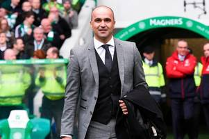 roberto martinez's odds to become celtic's next permanent manager plummet