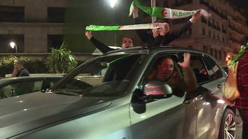 celebrations erupt after algerian president drops fifth term bid