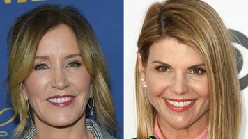 felicity huffman: desperate housewives star charged in exam cheating scheme