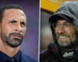 ferdinand: liverpool are nervous because they've not won anything for years!