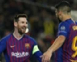 magnificent messi issues perfect riposte to ronaldo in barcelona masterclass
