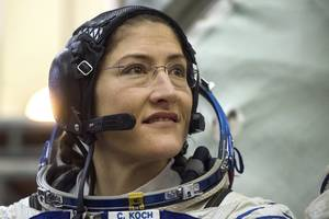 the first all-female spacewalk in history will feature women astronauts, flight directors, and mission controllers. nasa says it's a scheduling accident.