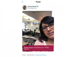 twitter will now let you swipe straight into the camera (twtr)