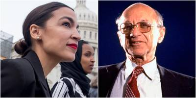 alexandria ocasio-cortez just revived a classic argument by conservative economist milton friedman about who pays for pollution