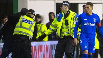 hibernian ban two season-ticket holders following rangers match