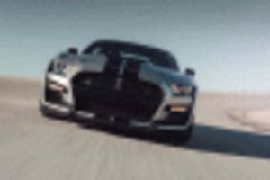 2020 ford mustang shelby gt500 limited to 180 mph, slower than camaro zl1