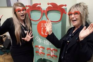 specsavers selling funny frames in cornwall to support comic relief