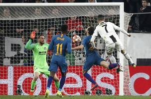 ronaldo nets hat trick to send juventus into cl quarters