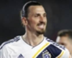 ibrahimovic to miss his second straight galaxy match with achilles injury