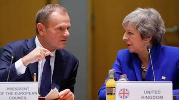 Brexit Article 50: Tusk to ask EU to consider long extension