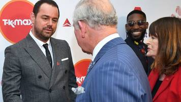 Danny Dyer has 'family reunion' with Prince Charles