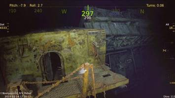 deep-sea explorers discover wreck of wwii aircraft carrier uss wasp