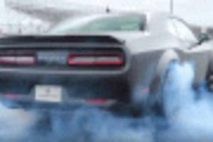 speedkore's 1,400-hp carbon-fiber-bodied twin-turbo dodge demon sounds angry, runs 8s