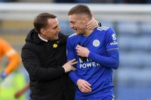 everything brendan rodgers said about jamie vardy's role at leicester city
