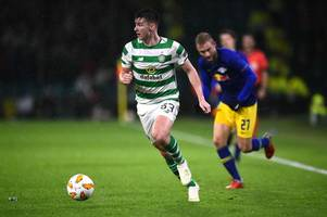 leicester city and arsenal handed boost in pursuit of celtic star kieran tierney