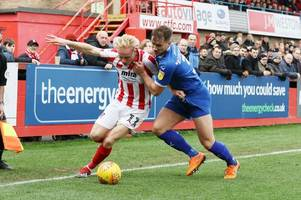 cheltenham town's former bristol rovers wing-back ryan broom on taking on home club newport county afc and his robins future