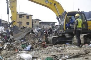 at least 12 pupils killed in school building collapse in nigeria