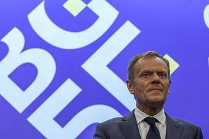 Brexit delay: EU council president Donald Tusk open to 'long extension' of Article 50