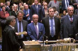 mps vote to delay brexit beyond march 29 as amid dramatic scenes commons