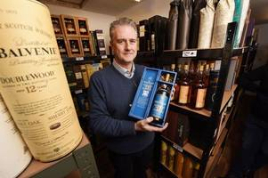 rare whisky bottles worth £6k found in attic helps scots dad clear credit card bill