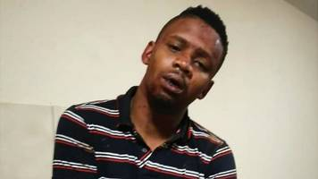 samora mangesi: south african presenter 'victim of racist attack'