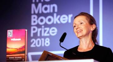 ni's man booker winner burns in 'joyous' return to her home city for a reading at lyric