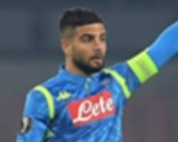 Liverpool & Man City-linked Insigne not for sale, warns Napoli president