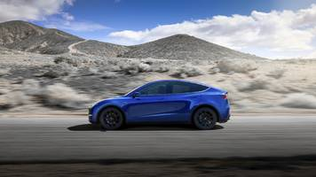 tesla opens up orders for its long-awaited model y suv, but production won't begin for a while (tsla)