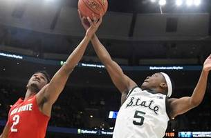 Michigan State opens Big Ten tournament with 77-70 win over Ohio State