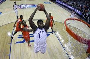 zion williamson goes 13 for 13 in his return as no. 5 duke downs syracuse