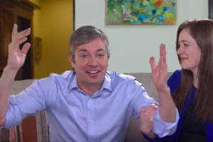 Jimmy Fallon Debuts His Really, Really Excitable Beto O'Rourke Impression (Video)
