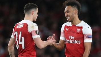europa league: arsenal play napoli and chelsea face slavia prague in quarter-finals