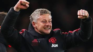 ole gunner solskjaer: man utd manager says side 'can go all the way' in champions league