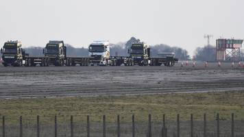 WWII bomb found at Brexit-plan lorry park Manston Airport