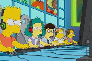 This week's Simpsons focuses on League of Legends