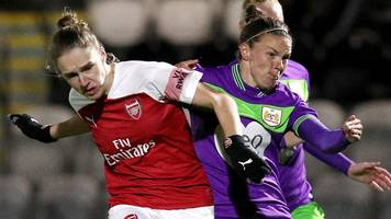Arsenal 4-0 Bristol City: Vivianne Miedema scores hat-trick as Arsenal cruise past Bristol
