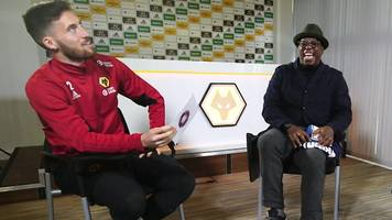 Would I lie to you? Wolves' Doherty & Coady compete for Wrighty's shirt