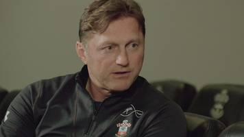 premier league show: saints boss ralph hasenhuttl on giving saints youth players a chance