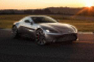 aston martin vantage will pop its top later this year