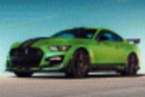 ford reveals grabber lime paint for 2020 mustang--just in time for st. patrick's day