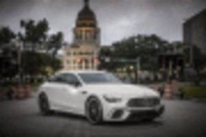 a more affordable four-door: 2019 mercedes-amg gt 53 4-door coupe costs $99,995